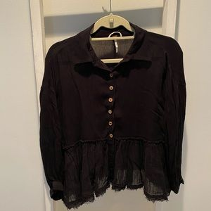 Free People Blouse- never worn but tags off